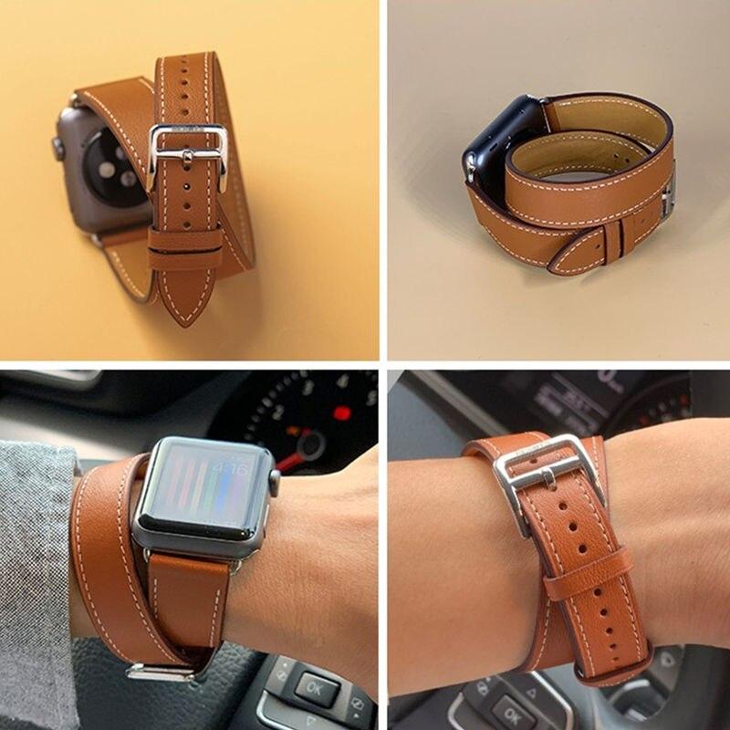 สายนาฬิกาข้อมือ Hermes สําหรับ Apple Watch