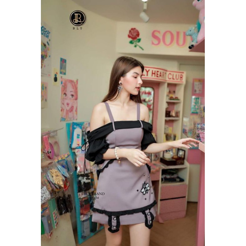BLT Dove Violet Dress  [ XS ]