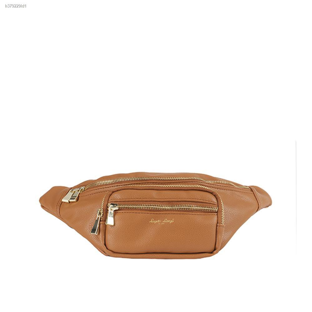 Lowest price№№◑anello กระเป๋าคาดเอว Grain Body Bag PU_OS-G002 - CAMEL