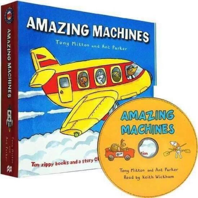 Amazing Machine10  Books