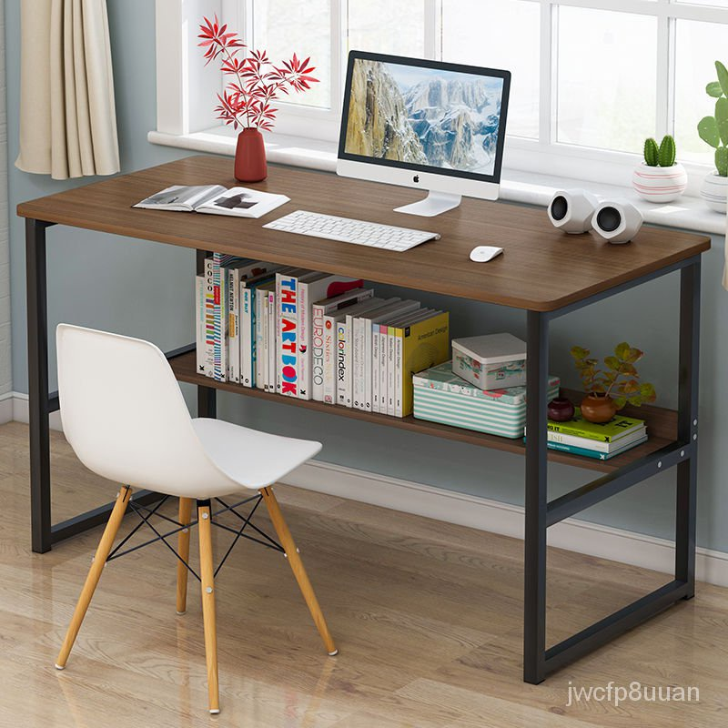 Computer Desktop Desk Simple Modern Small Table Bedroom Writing Desk Household Simple Small Desk Desk Economical B1iv Shopee Thailand