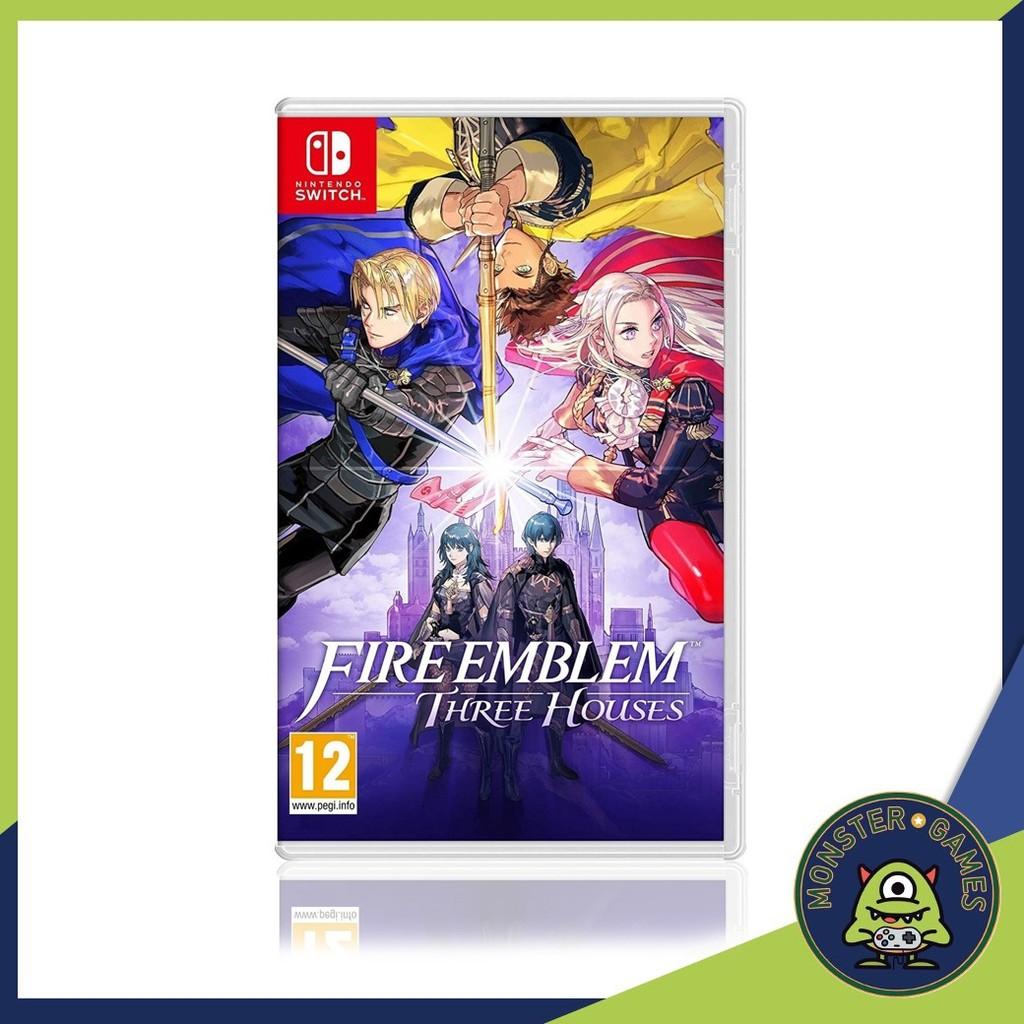 Fire Emblem Three Houses Nintendo Switch game (เกมส์ Nintendo  Switch)(ตลับเกมส์Switch)(แผ่นเกมส์Switch)(ตลับเกมส์สวิต)