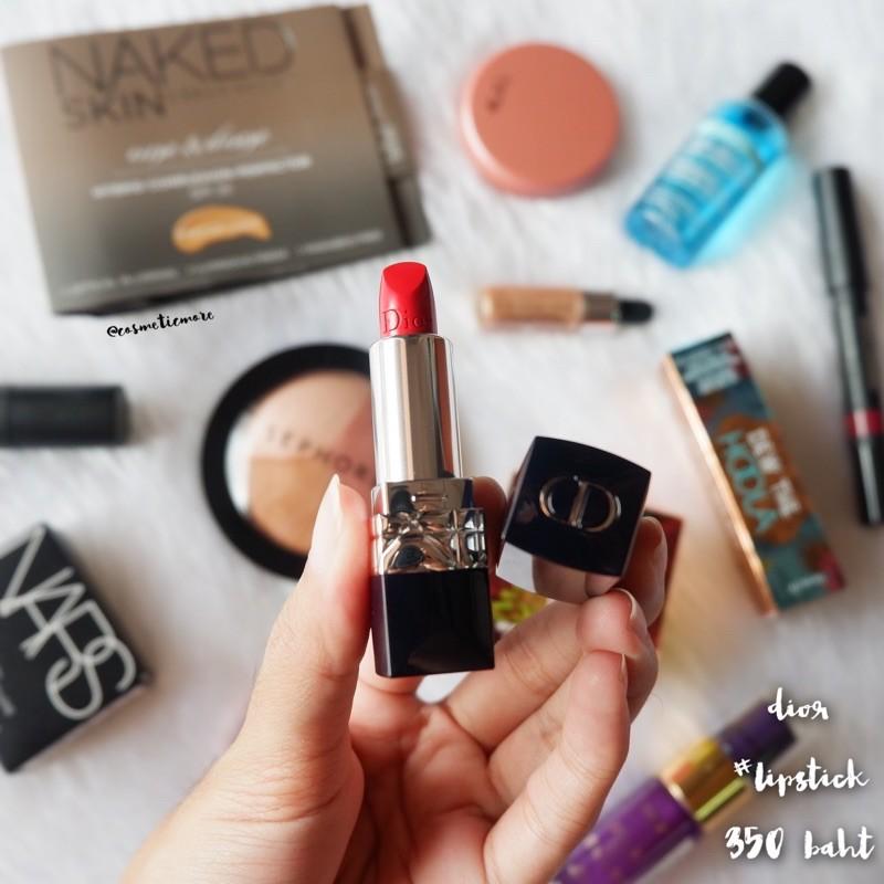 พร้อมส่ง! ❤️ dior rouge lipstick 1.5g สี 999 (nobox)