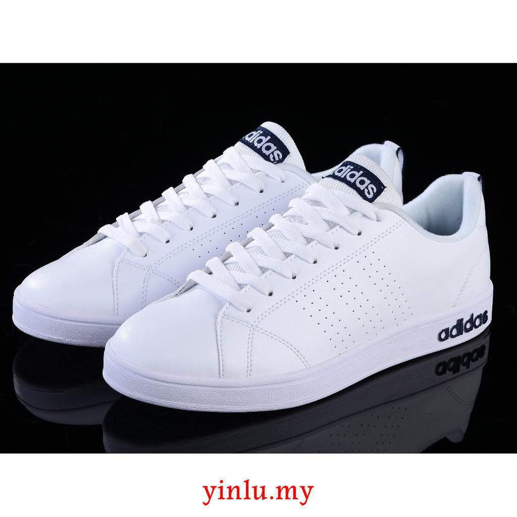 รองเท้าผ้าใบ Adidas NEO Laid ADVANTAGE CLEAN VS Unisex skateboa