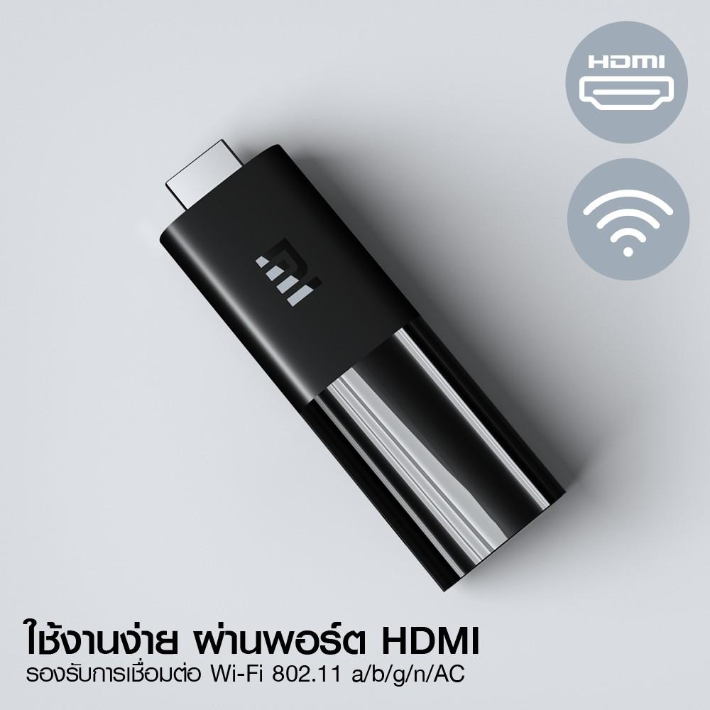 [รับ 188 Coins โค้ด PDCCB15TRW] Xiaomi Mi TV Stick (GB Ver.) Android TV 9.0 -30D