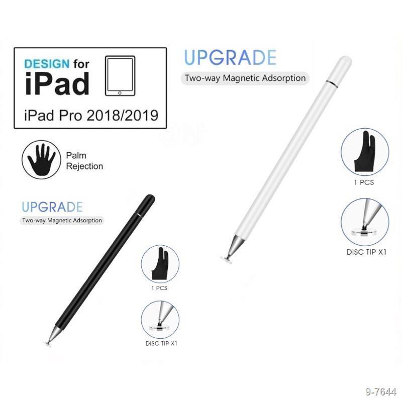 ✧[ปากกาipad]ปากกาไอแพด วางมือแบบApplePencil stylus ipad gen7 2019applepencil10.2 9.7 2018 Air3Pro11 2020 12.9งานแท้โรงงา