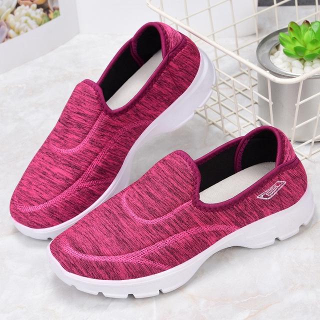 skechers go walk รองเท้า เพื่อสุขภาพ size 35~40 รองเท้าคัชชู ผู้หญิง รองเท้า ไซส์ใหญ่ Women casual slip-ons