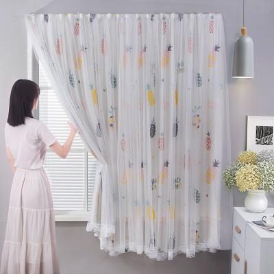FILEผ้าม่านหน้าต่าง ผ้าม่านประตู ผ้าม่าน UV สำเร็จรูป กั้นแอร์ได้ดี และทึบแสง กันแดดดี ติดแบบตีนตุ๊กแก จำนวน 1ผืน