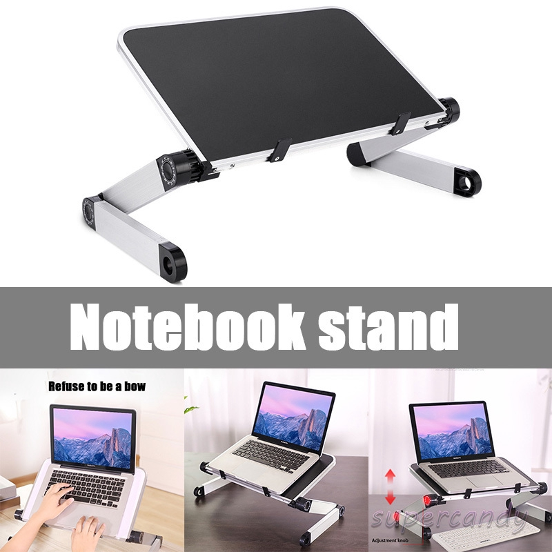 Adjustable Laptop Stand Computer Desk Tablet Notebook Holder Desk Bracket Standing