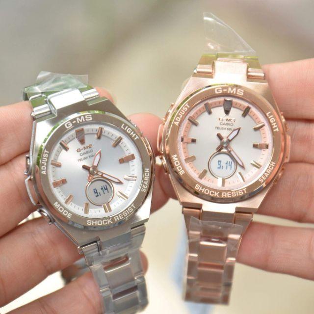 นาฬิกาข้อมือ Casio G-shock สายสแตนเลส ของแท้ 100%