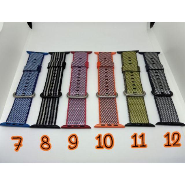 สายapplewatch ขนาด 42/44มม. สายผ้า สินค้าพร้อมส่งจากไทย