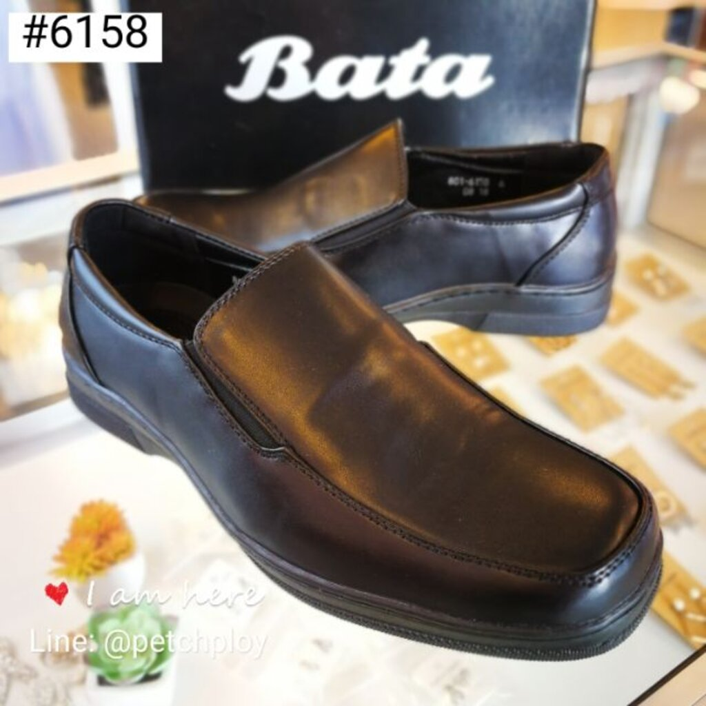 (801-6158) Bata รองเท้าหนังคัชชูผู้ชาย บาจา รุ่น 801-6158