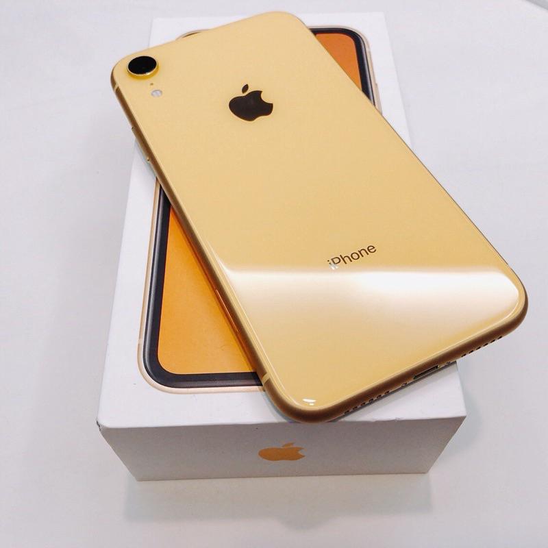 Apple iPhone XR  สีเหลือง   อุปกรณ์ครบชุด   มือสอง/ มือ2