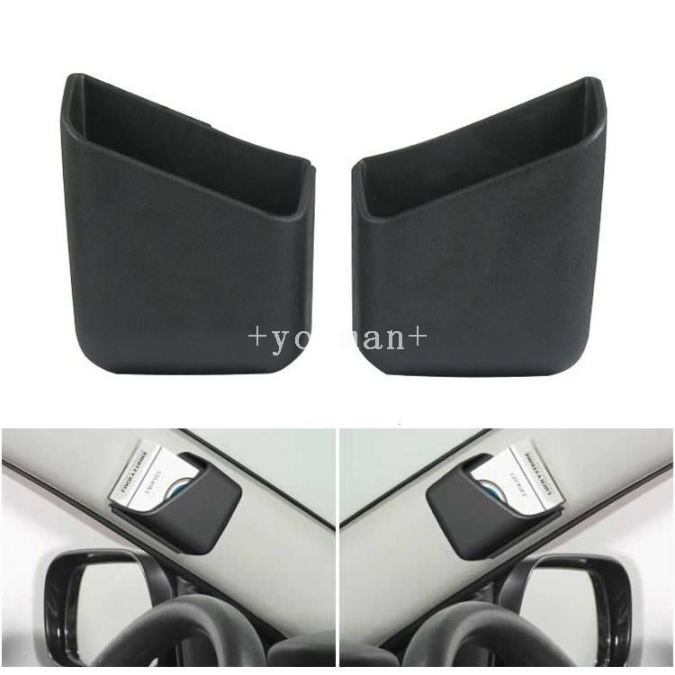 Multi-function paste type car storage box car storage bucket car sundries bag can put mobile phone cigarette holder