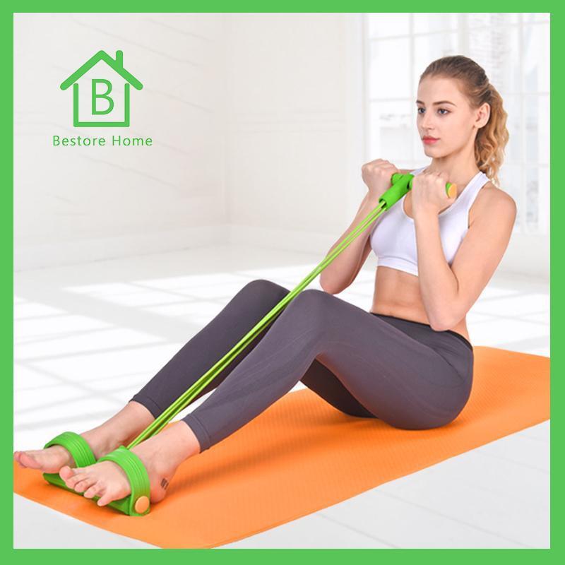 in กีฬาและกิจกรรมกลางแจ้งอุปกรณ์ฟิตเนสและออกกำลังกายอื่น☫◇℗ฺBestoreHome ยางยืดออกกำลังกาย อุปกรณ์กีฬาออกกำลังกายอเนกปร