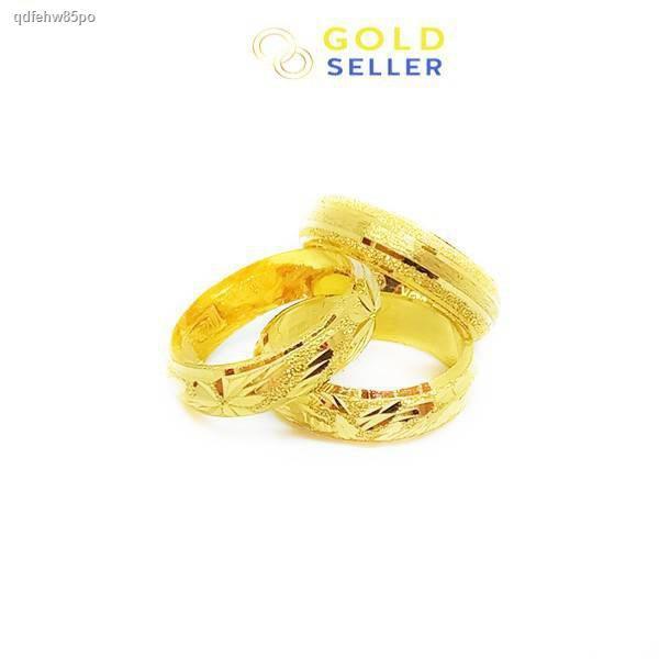 ราคาต่ำสุด✳✖Goldseller แหวนทอง ลายแม็ก น้ำหนักครึ่งสลึง คละลาย ทองคำแท้ 96.5%