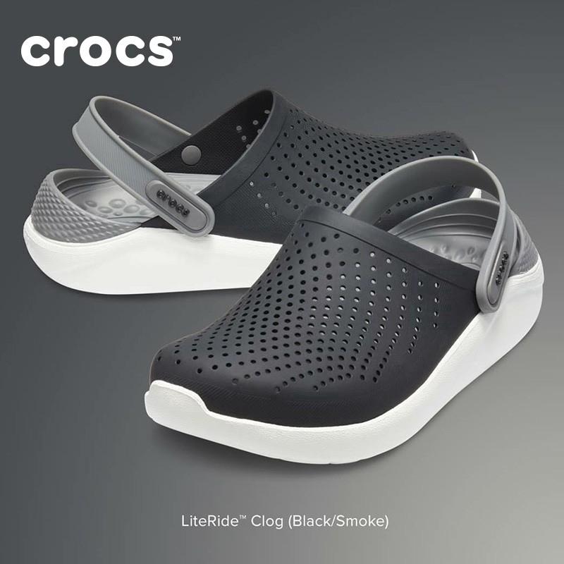 ขาย! !! !! รองเท้าคู่รูของแท้ Crocs อย่างเป็นทางการ รองเท้าชายหาด