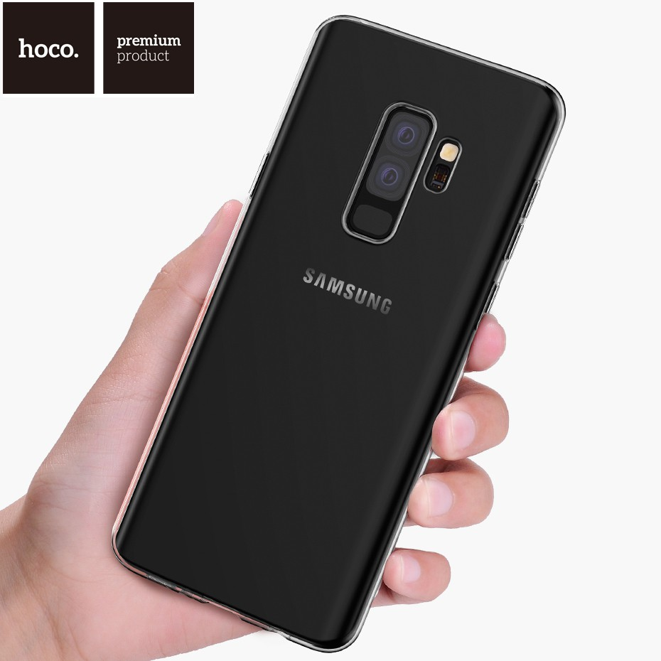 Hoco แท้💯% Samsung Galaxy S9 / S9+ / S8 / S8+ Case Hoco Light Series TPU Case (เคสนิ่มแบบใส)