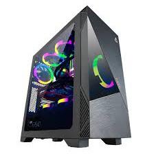 เคสคอมพิวเตอร์ ARGB ราคาจับต้องได้ AZZA ATX Mid Tower Tempered Glass Gaming Case CELESTA 340 - Bl