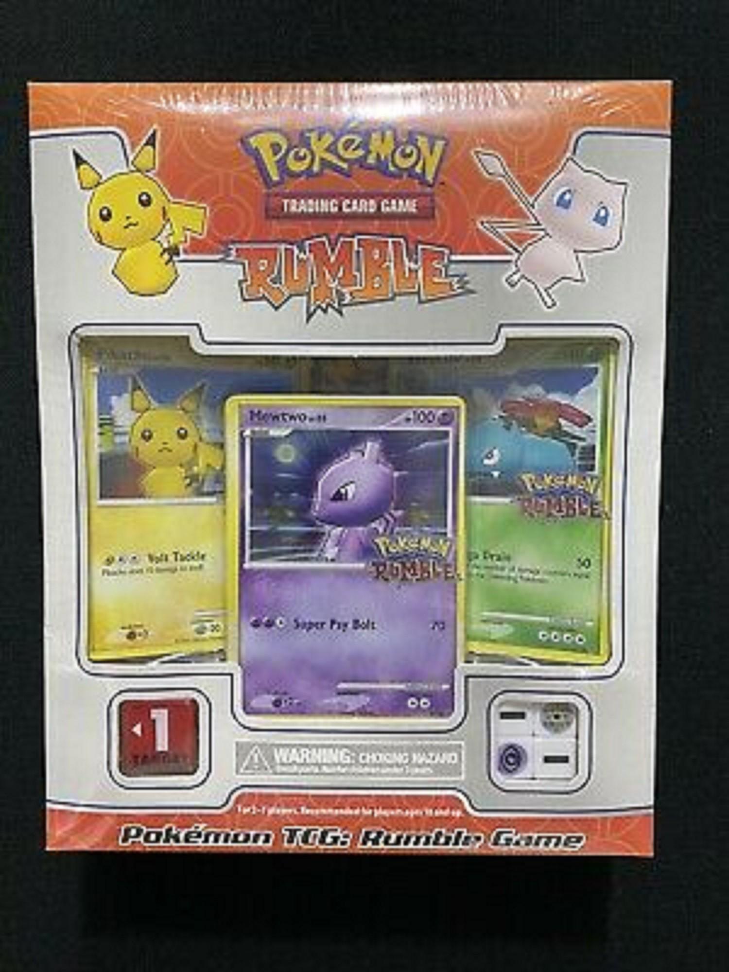 กล่องเกม Pokemon Tcg : 2009 Rumble ( จากโรงงาน )