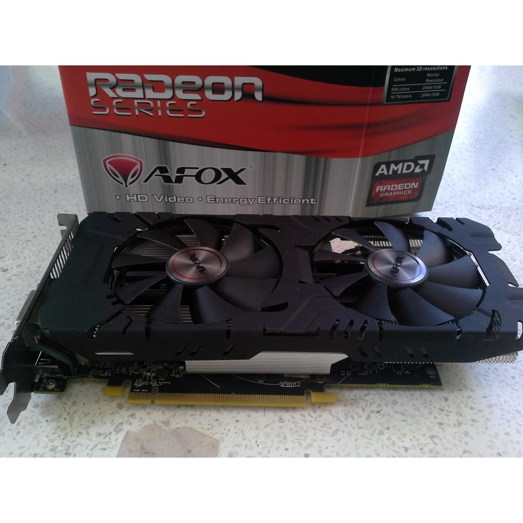 AFOX RADEON RX580 4GB | Shopee Thailand