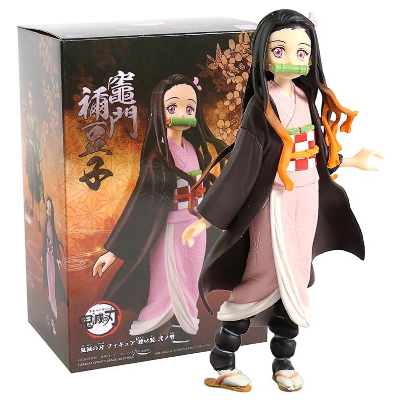 อะนิเมะ รูปอะนิเมะ Demon Slayer Anime Figure Kochou Shinobu Figure Kimetsu no Yaiba Kamado Tanjirou Action Figure Agatsu
