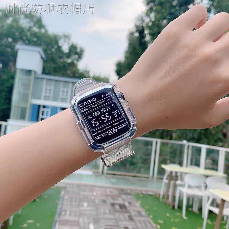 สายนาฬิกาข้อมือ Applewatch 6 / Se สีโปร่งใสสําหรับ Applewatch