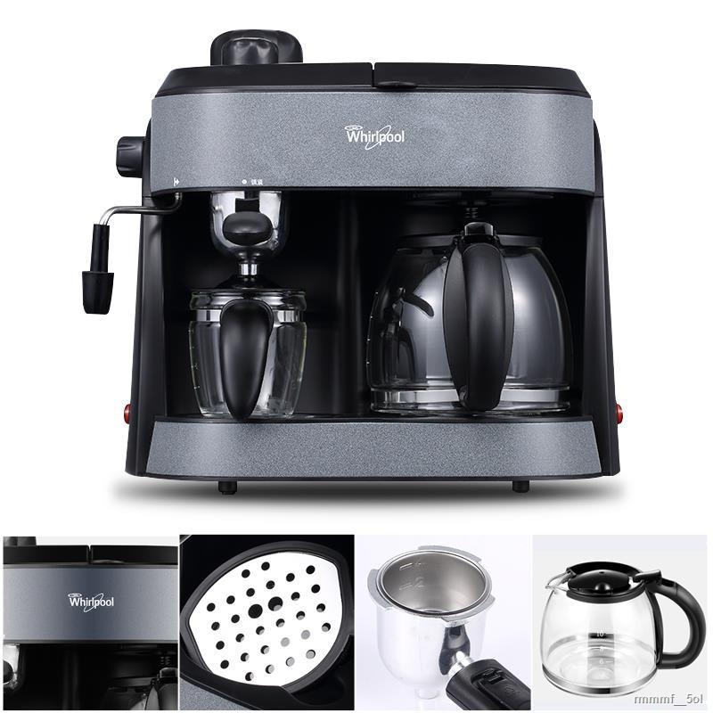 ◊♠Whirlpool/Whirlpool WCF-CY002D เครื่องทำกาแฟเอสเปรสโซแบบกึ่งอัตโนมัติเชิงพาณิชย์แบบไอน้ำ