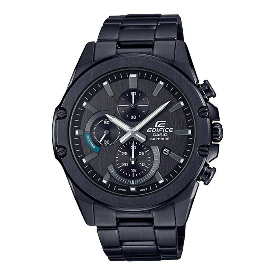 Casio Edifice นาฬิกาข้อมือผู้ชาย สายสแตนเลส  รุ่น EFR-S567DC,EFR-S567DC-1A,EFR-S567DC-1AV - สีดำ