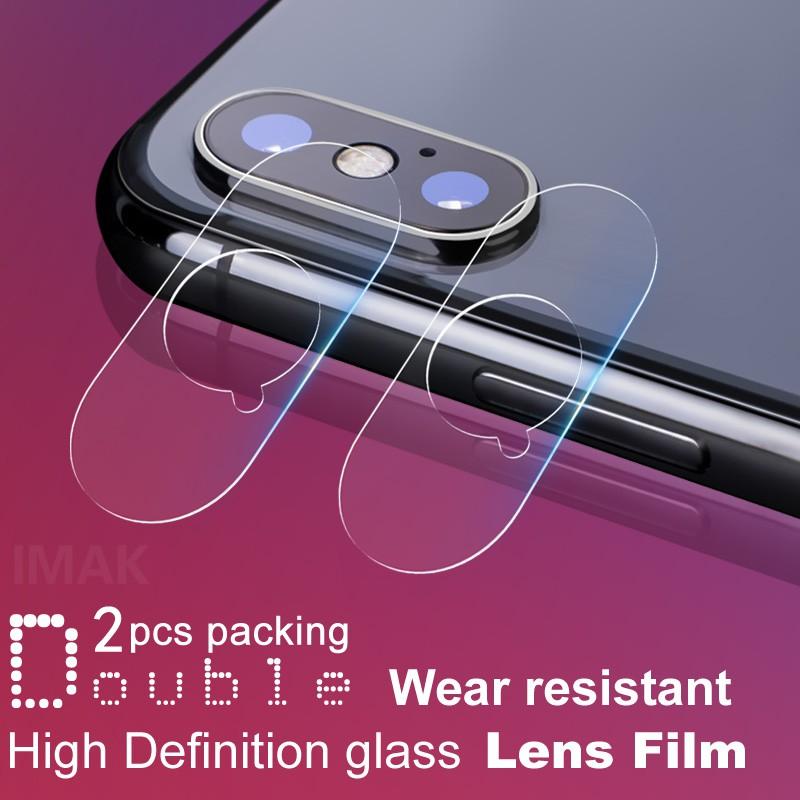 Camera Lens Protector Glass กล้องเลนส์ฟิล์ม Apple iPhone XS Max ฟิล์มกระจกติดกล้องหลัง iPhone X XS กล้องกระจกกันรอยฟิล์ม