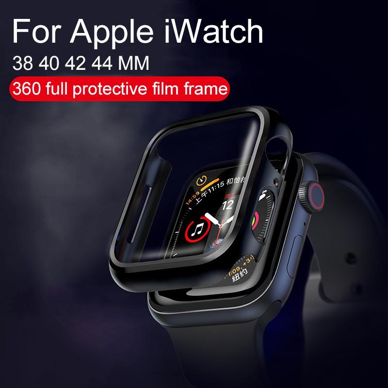 พร้อมส่ง‼️ Case+Glass for Apple Watch⌚️S1-S5(Size38,40mm./42,44mm.)