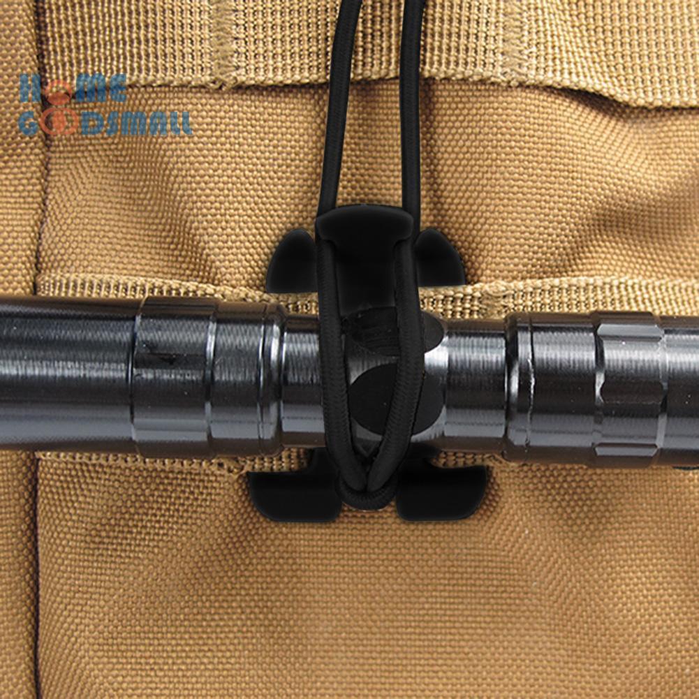 สายเชือกหัวเข็มขัดรัดกระเป๋าเป้สะพายหลังเหมาะกับการพกพาเดินทาง