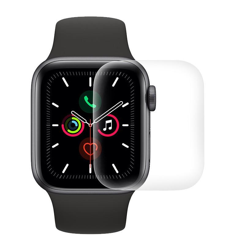 ﹉✠ดูหนัง applewatch6 ฟิล์มนิรภัย se เหมาะสำหรับ Apple Watch series4 ฟิล์มไฮโดรเจล iwatch5 ฟิล์มกันรอย 3 แบบเต็มจอครอบค