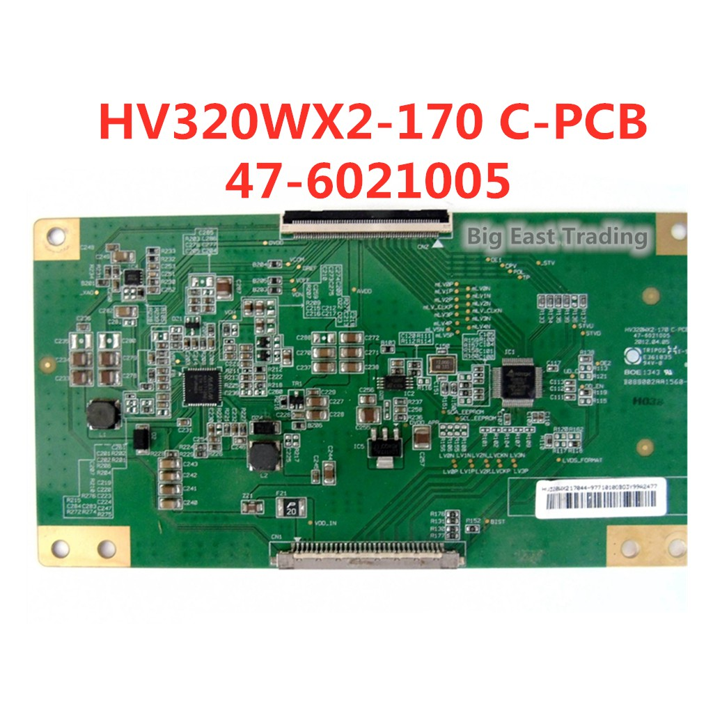 Tcon Board Hv320Wx2-170 C - Pcb 47-6021005 T - Con Logic Board สําหรับ Boe 32 นิ้ว