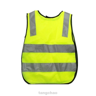 Road Camping Outdoor Clothing Reflective Traffic High Visibility Kids Safety Vest