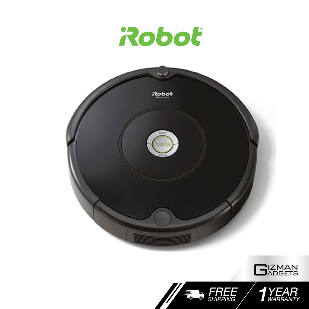 iRobot Roomba 606 หุ่นยนต์ดูดฝุ่นอัตโนมัติ ของแท้ประกันศูนย์ไทย 1 ปีเต็ม