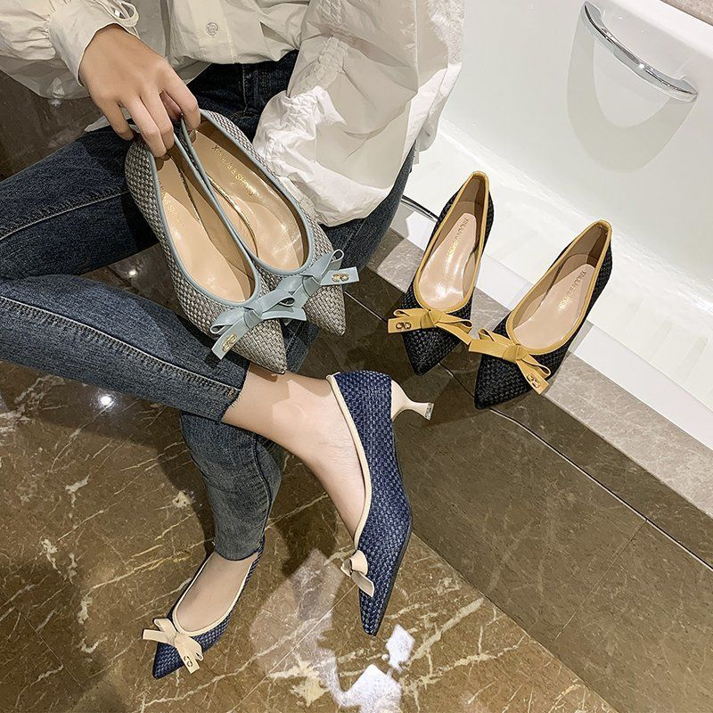 รองเท้าผู้หญิง💓รองเท้าคัชชู หัวแหลม💓รองเท้าโลฟเฟอร์💓รองเท้าแฟชั่น รองเท้าส้นสูงแฟชั่น ดูหรู ใส่สบาย