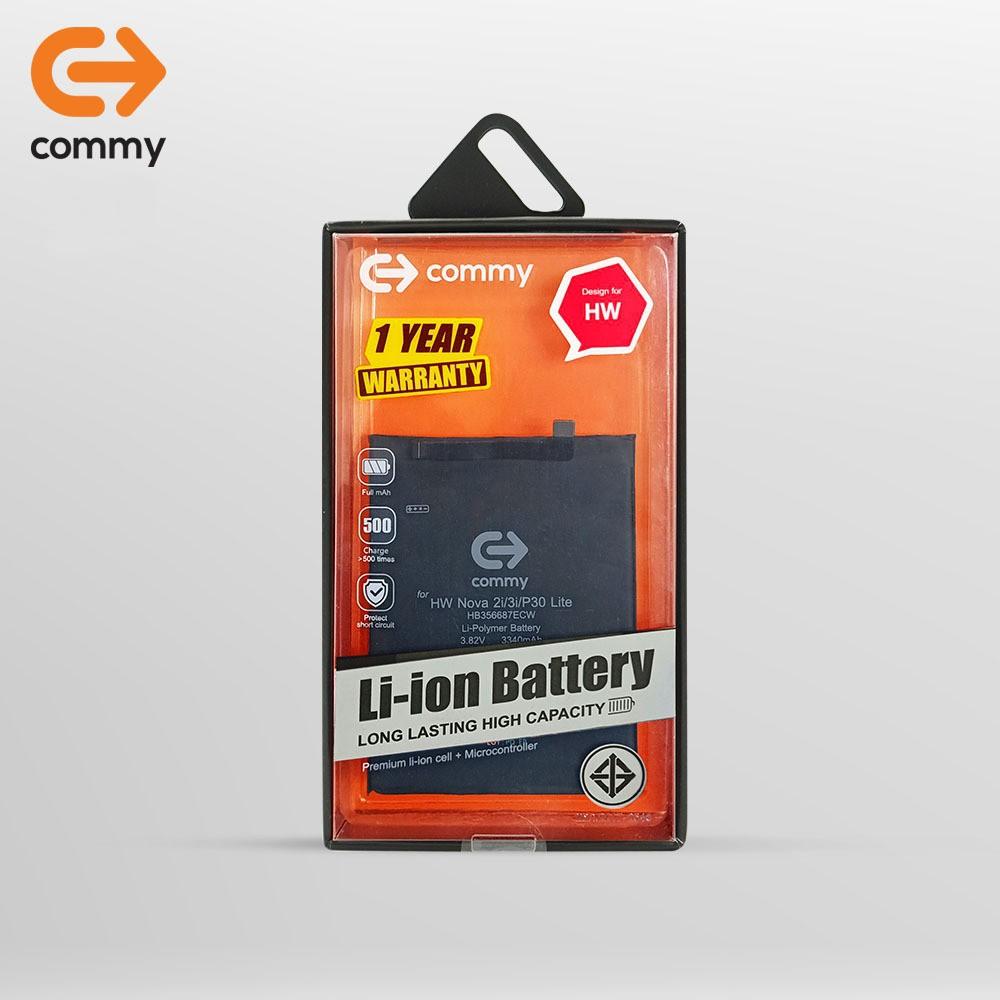 COMMY แบตหัวเว่ย Nova 3i (3,340 mAh) รับประกัน 1 ปี / Battery Huawei Nova 3i [Commy แท้100%] ฟรี!เทปกาวติดแบตเตอรี่