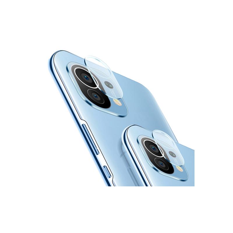 ฟิล์มกระจกนิรภัย กันรอยเลนส์กล้อง หนา 9D 9H สำหรับ Xiaomi Mi 11 Note 10 Lite 10T Pro 5G