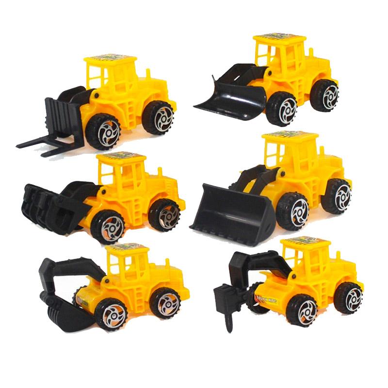 โมเดลรถบรรทุก รถขุดดิน ของเล่นสำหรับเด็ก 1 ชิ้น