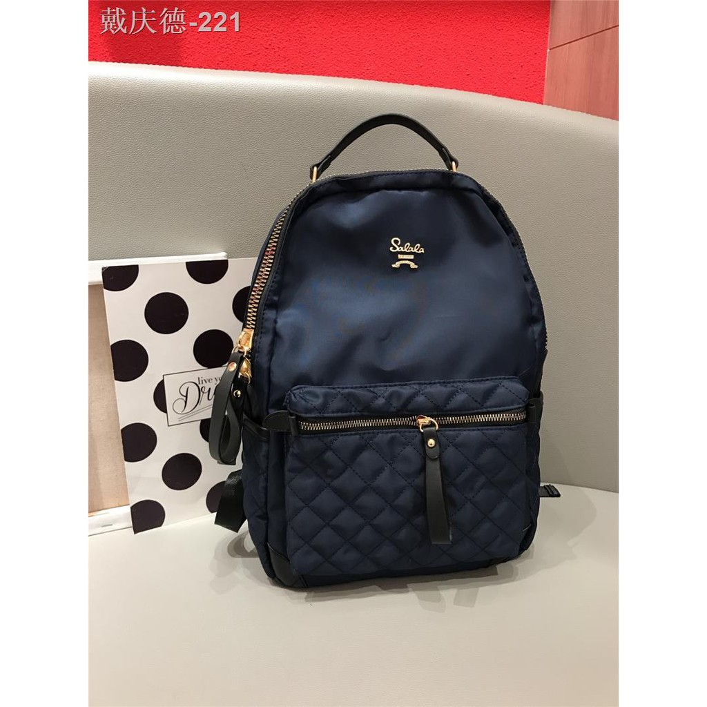 กระเป๋าเป้ผ้า Oxford สำหรับผู้หญิง เดินทาง ความจุขนาดใหญ่ น้ำหนักเบา กระเป๋าเป้คอมพิวเตอร์ 14 นิ้ว มูลค่าสูงและสวยงาม
