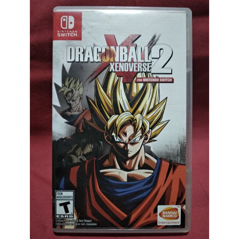 Nintendo Switch Dragonball Xenoverse2 (มือสอง)
