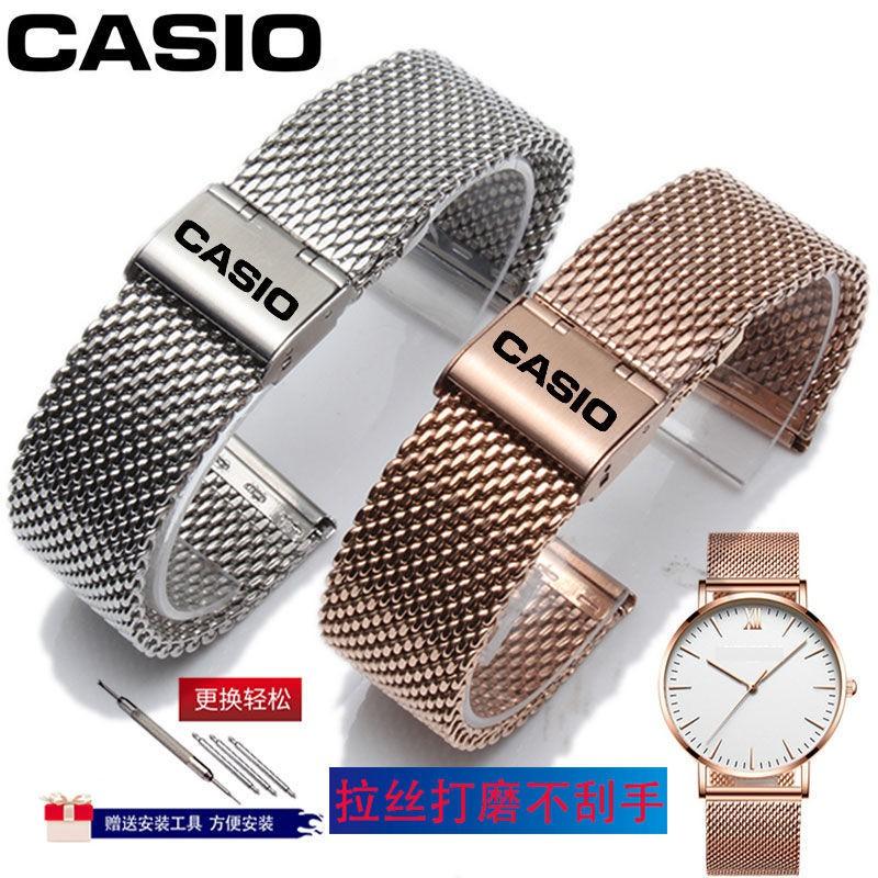 Casio สายนาฬิกาข้อมือสแตนเลส Efr303 / 539 L / Mtp - 1375