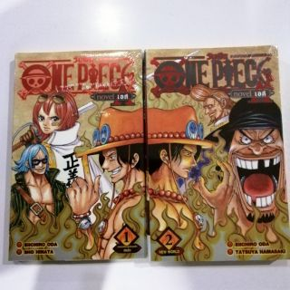 Review ONE PIECE novel เอส​ เล่ม1, 2(จบ)