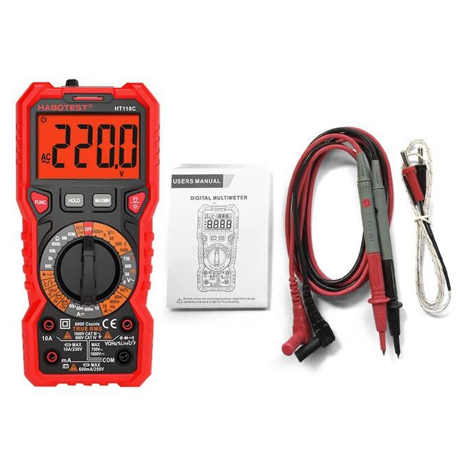 Digital Multimeter HABOTEST HT118C
