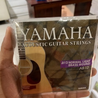 Review สายกีตาร์โปร่ง ACOUSTIC GUITAR STRINGS Yamaha 012 Yamaha