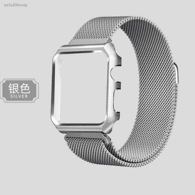 ขายดีเป็นเทน้ำเทท่า₪¤high-end wezi เหมาะสำหรับ applewatch6 watchband iwatch stainless steel metal iphone series ชายและ