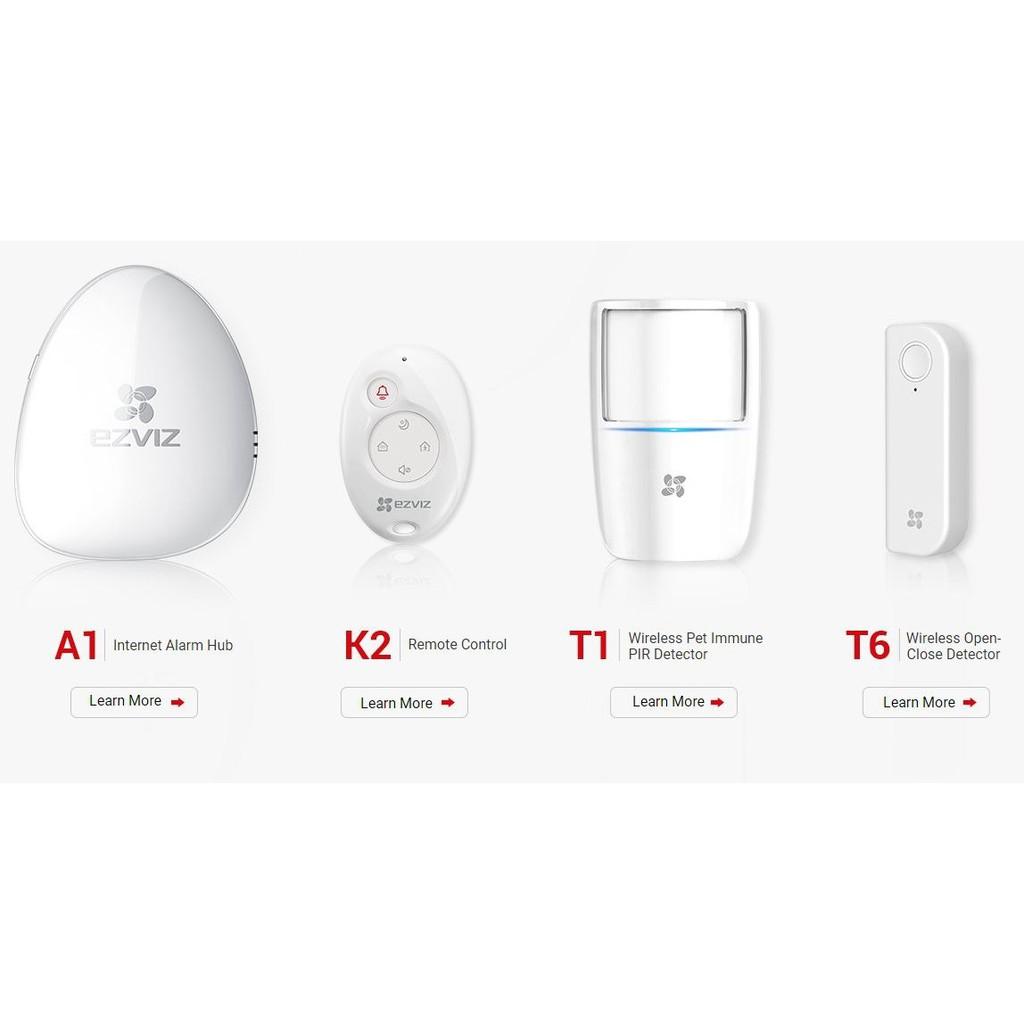 Portable PIR Alarm White