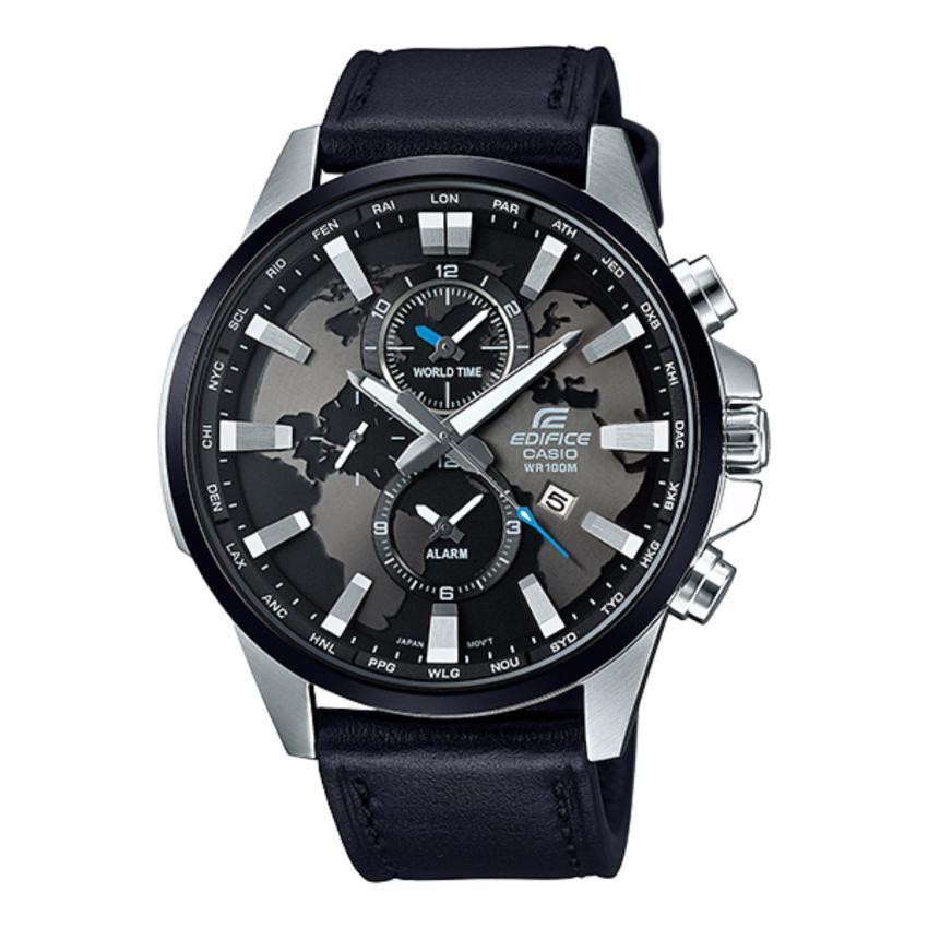 Casio Edifice นาฬิกาข้อมือผู้ชาย สายหนัง/สายสแตนเลส รุ่น EFR