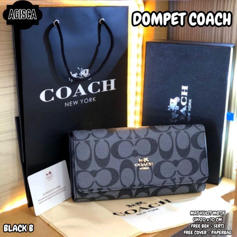 Coach กระเป๋าสตางค์ใบสั้นสําหรับผู้หญิง